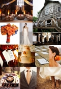 Rustic Wedding party
