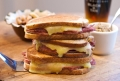 Grilled Corned Beef &amp; Cheddar Sandwiches party