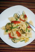 Roasted Pepper Party Pasta Salad party