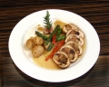 Chicken Roulade with Spiced Cider Reduction party