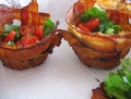 Bacon Cups party