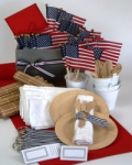 American Patriotic Picnic party